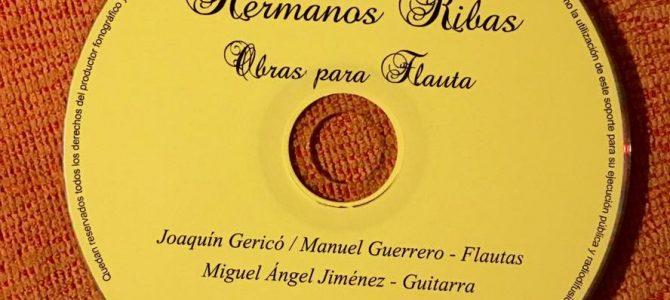 Novedad discográfica:  Obras para flauta de los hermanos Ribas