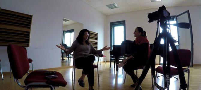 Maria Rita de Matteis: «Para mí una masterclass es un intercambio de experiencias».