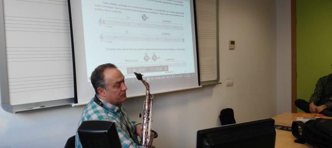 Seminario sobre metodología del Saxofón