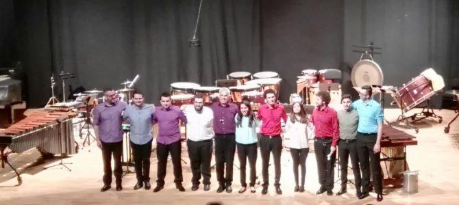 Actividades  de la especialidad de Percusión en 2017